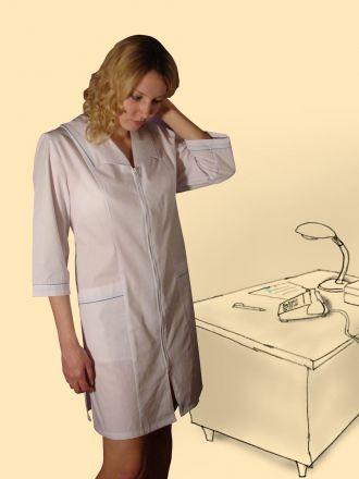 Халат сорочечный, модель Нина